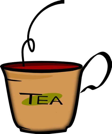 tea clipart printerkiller cup of tea clip at clker vector