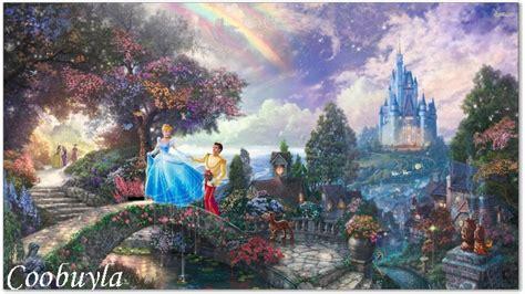 Cheap Artwork Canvas by Shop Popular Thomas Kinkade Cinderella Painting From China