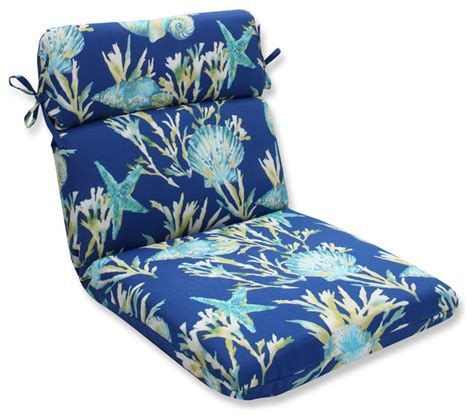 daytrip rounded corners chair cushion beach style