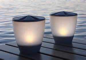 Patio Table Lights Patio Lighting Britta Products Turner Black01 Solar Patio Table L With Led Candle Accent Light