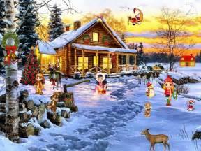 Christmas Scene Setters Xmas Scenes Woodiespartyzone » Ideas Home Design