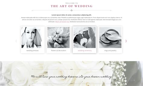 bootstrap themes free wedding wedding day bootstrap template id 300111911 from