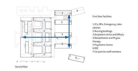 medical center floor plan gallery of meander medical center atelierpro 30