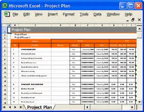 Project Planner Excel Template Project Plan Template Download Ms Word Amp Excel Forms