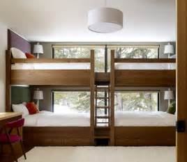 Bunk Bed Kids Room by Four Kids One Room Bunk Beds Decoholic