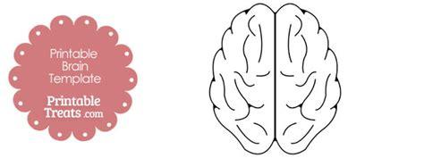 printable brain template