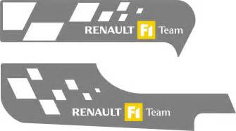 Renault F1 Team Logo Autocollant Renault F1 Team My Favorite Picture
