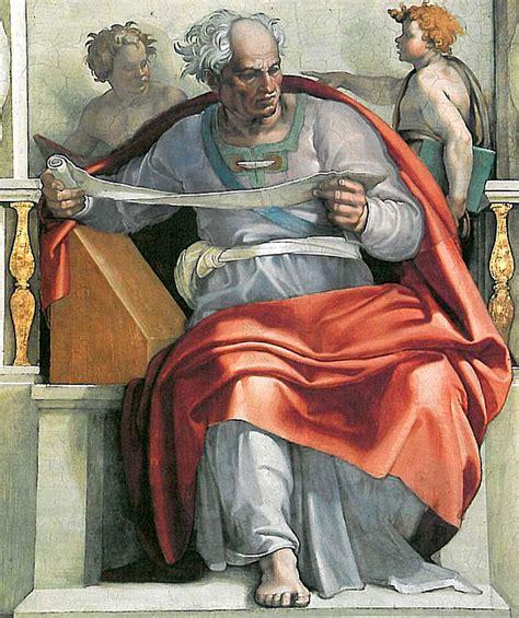 libro michelangelo the complete paintings prophet joel michelangelo