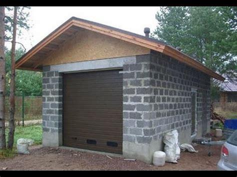 garage selber bauen garage bauen garage selber mauern garage selber bauen