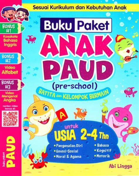 Paket Buku Anak buku paket anak paud pre school batita dan kelompok