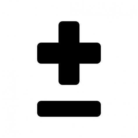 imagenes de mas y menos objetos signos m 225 s y menos descargar iconos gratis