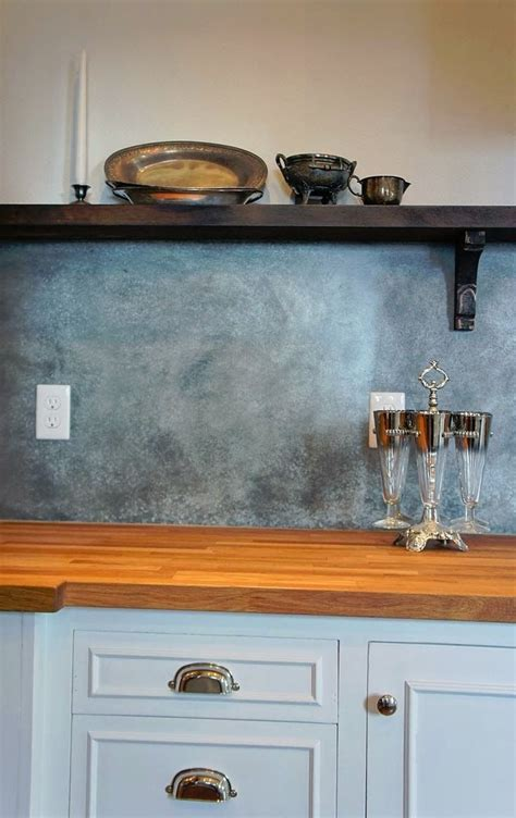 metal backsplashes for kitchens best 25 sheet metal backsplash ideas on pinterest sheet