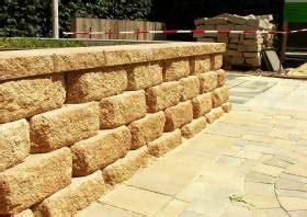 betonsteine mauer preis trockenmauersteine beton