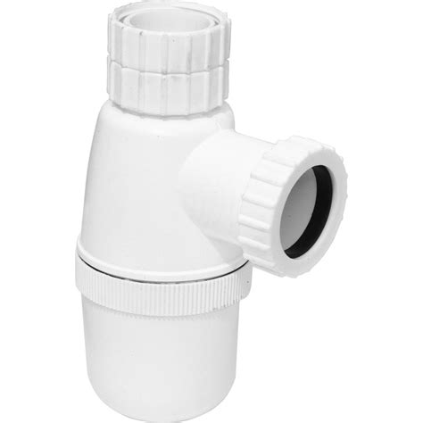 bottle trp bottle trap with telescopic bottle trap 76mm seal 32mm toolstation