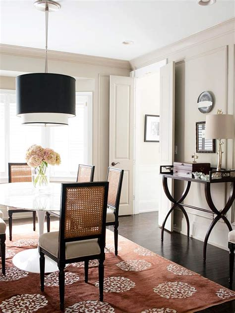 statement lighting for the white dining room bhg centsational style