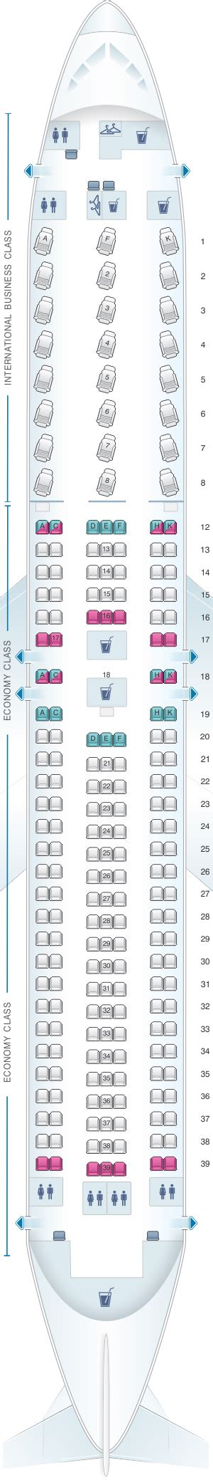 Seat Map Boeing Air Canada by Plan De Cabine Air Canada Boeing B767 300er 763