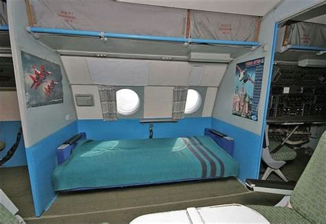airplane bed awesome airplane with cozy beds 16 pics izismile com