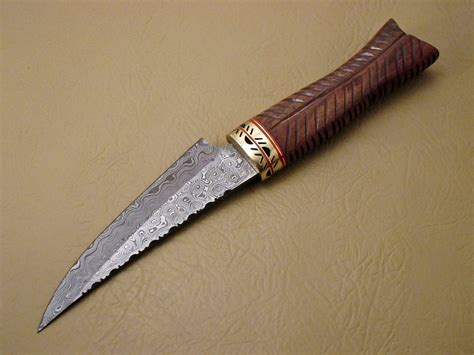 Handmade Damascus Knives - custom handmade damascus steel knife new damascus