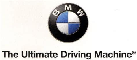 bmw slogan bmw slogan in german