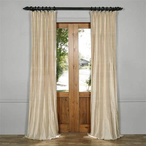 beige silk curtains biscuit beige textured dupioni silk curtain