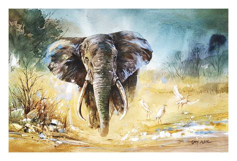 watercolor elephant tutorial watercolor painting elephant by abstractmusiq on deviantart