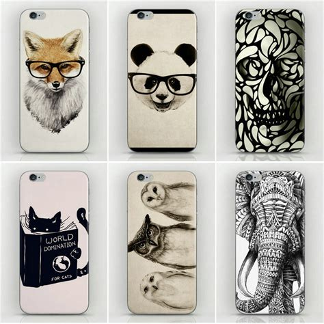 Casing Housing Iphone 5 Iphone 5g Style Model Iphone 6fullset Ori 22 design animal sketch style housing for iphone 5s cases