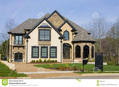 luxury new homes for sale stock images image 4855774