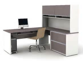 Office Table L L Shaped Office Desk For Space Saving