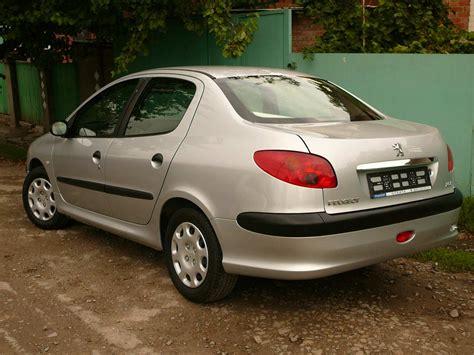 peugeot 206 sedan 2007 peugeot 206 sedan pictures 1 4l gasoline ff