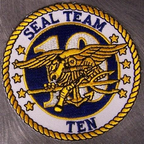 Seal Team 10 Patch directory inventory patches navy