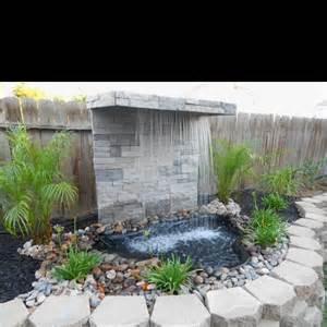 diy waterfall garden diy waterfall water