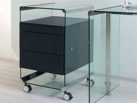 Metal Office Drawers by Office Drawer Unit With Casters Metal By Gallotti Radice