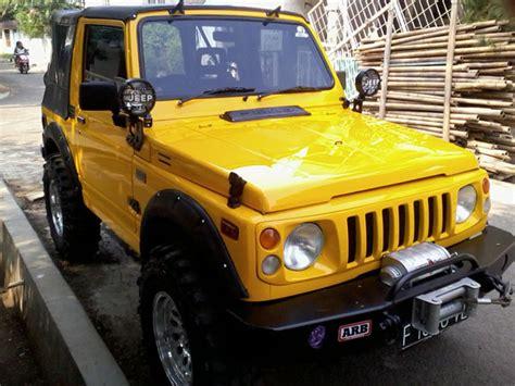 Jual Karpet Suzuki Jimny bekas fs suzuki jimny 1984 4x4 yellow