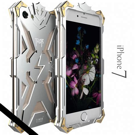 Simon Thor Ii Bumper Iron For Samsung S7 Edge Black simon thor shockproof aluminum metal armor cover for iphone 5s 6 6s 7 plus ebay