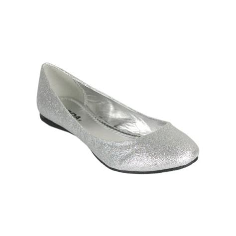 silver flat dress shoes the dress shop