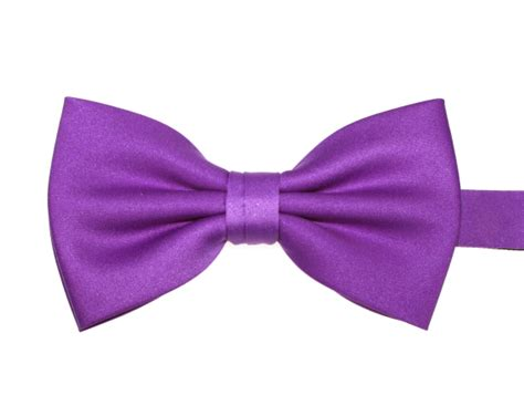 Plain Bow Tie plain purple bow tie extras