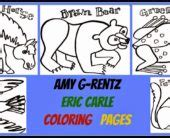eric carle coloring pages grouchy ladybug eric carle blue horse coloring pages picturesque eric