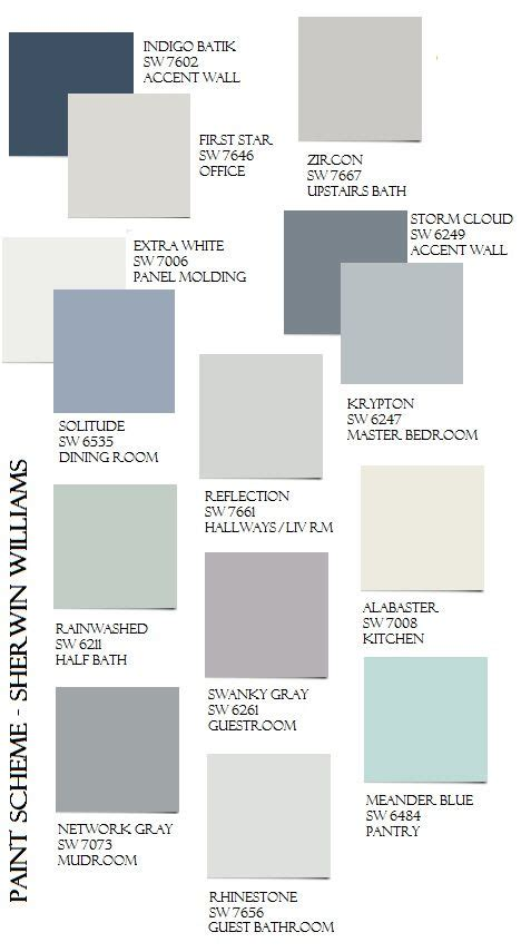 whole house color palette 1000 images about paint whole house color palette on