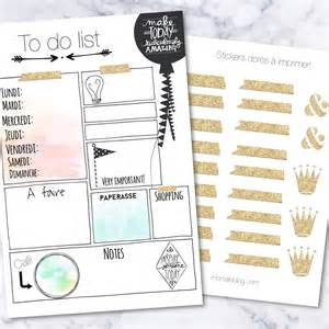 to do stickers free printables to do list et stickers dor 233 s