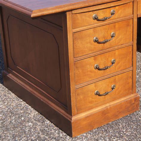 vintage mid century modern jasper traditional wood desk ebay