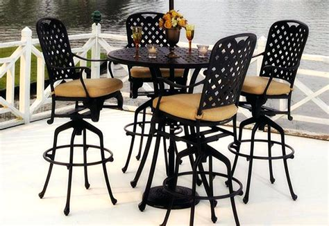 outdoor bistro table and chair set outdoor bistro table and chair set vera cast aluminium