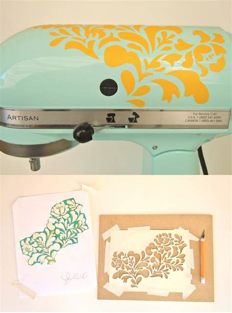 kitchen stencils designs 21 adorable diy projects to spruce up your kitchen