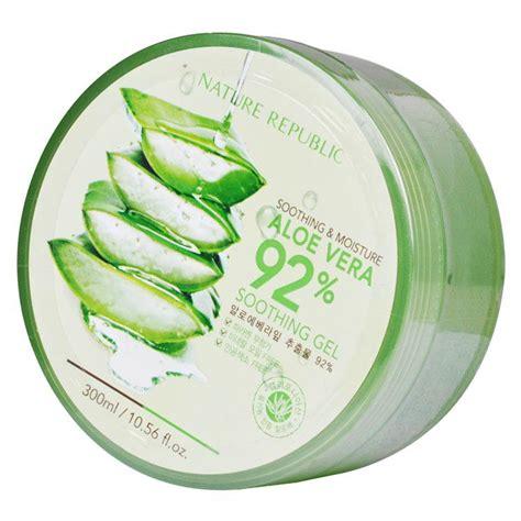 Nature Republic Aloe Vera Soothing Gel Korea korean nature republic aloe vera 92 soothing gel sleeping