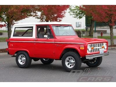 find used 1970 bronco fuel injected 5.0, overdrive