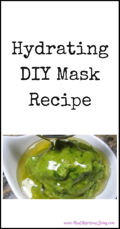 hydrating mask diy hydrating diy mask recipe real nutritious living
