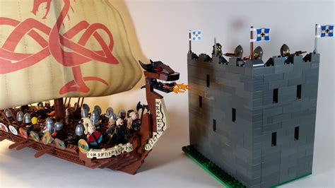 lego yacht tutorial lego ideas viking long ship