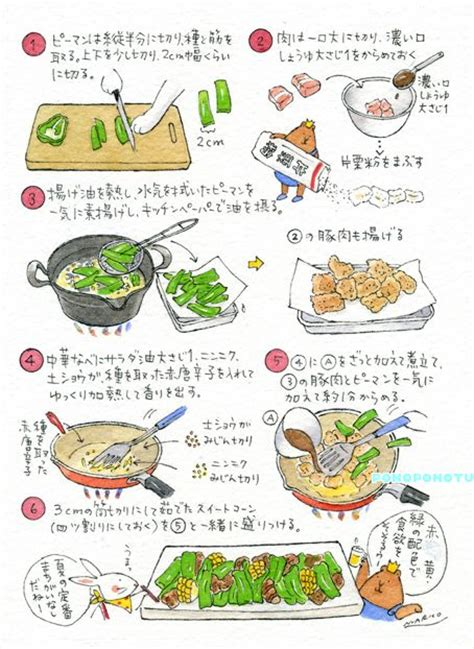 food doodle pens 748 best images about illustrated recipes on