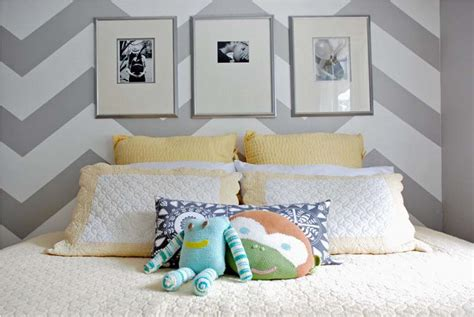 chevron bedrooms room decorating before and after makeovers