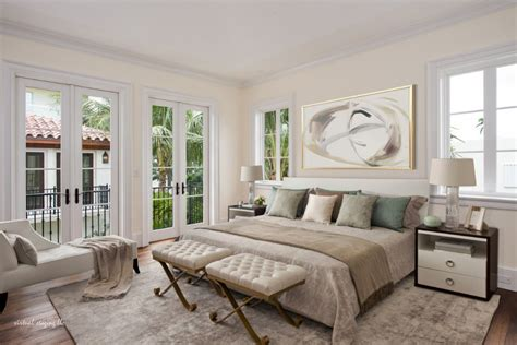 bedroom ranch estate in florida showcasing an inviting vibrant looks define true palm beach style interiors by g