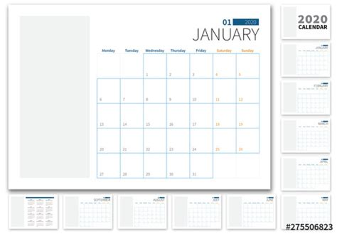landscape  calendar layout buy  stock template  explore similar templates  adobe